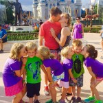 Another happy family at Disney! © Enchanted Memories Travel